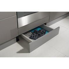 Tiroir sous-plinthe pour meuble l.60 cm, DELINIA | cuisine leroy ...
