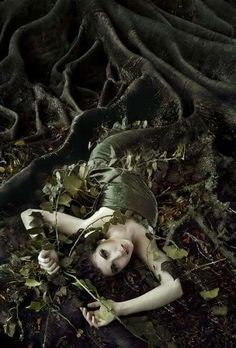 Helena - she boarded both worlds. The otherworld always beaconed her, and yet something caused her to cling to reality.