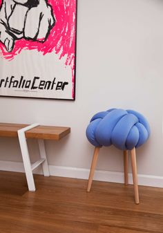 light-blue-stool- photographer- Ami Tesler