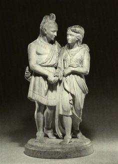 Hiawatha, by Edmonia Lewis, marble, 1868, Newark Museum ...