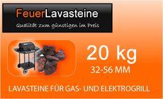 Angebot : 20-kg-Lavasteine-für-Gas-und-Elektrogrill Nur : 9,95 EUR ( 0,49 pro kg)