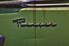 """Chromeography - """"1950s"""" - photos of emblems, badges, logos on cars & other…"""