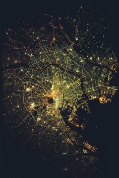 Plan of Tokyo, Big - By: (sjrankin)