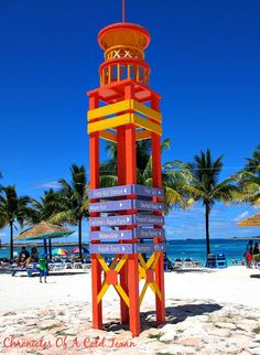 CocoCay Bahamas - The View From My Beach Chair