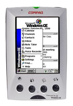 Compaq Aero 2100 Pocket PC (1999).