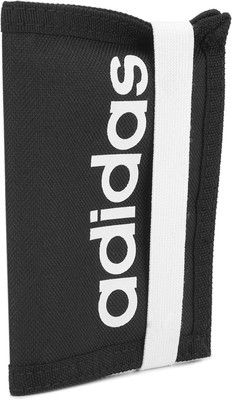 Adidas Synthetic Wallet For Men Velcro Closure – Black & White @ Rs 599