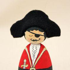Cornish Pixie Elf The Captain by CornishDragon on Etsy