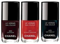 Chanel Les Automnales Fall 2015 Collection – new #nailpolish shades