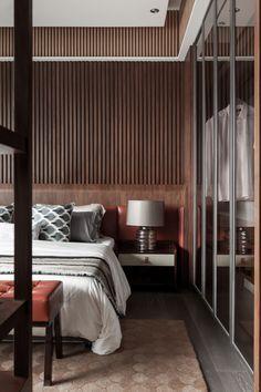 LUXURY DESIGN BEDROOM    a modern bedroom with luxury furniture pieces , MIEMASU  NEW OLD   http://bocadolobo.com/ #modernbedroom  #bedroomideas