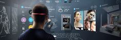 The Significance Of UX Design For Augmented Reality Augmented Virtual Reality, Virtual Reality Headset, Ux Design, Design System, Graphic Design, Tony Stark, Minority Report, Google Glass, Vr Headset