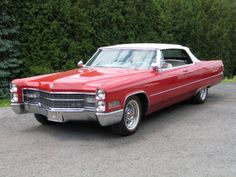 1966 Cadillac DeVille Convertible - had a chance to buy my neighbor's used caddy and kick myself that I didn't