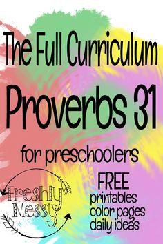 full curriculum for an entire 19 weeks of daily activities and daily discussions catered toward preschool learning. Gift ideas, activities, printables, and coloring pages all in the name of the Lord! Toddler Bible Lessons, Preschool Bible Lessons, Preschool Learning, Preschool Activities, Christian Preschool Curriculum, Preschool Sunday School Lessons, Preschool Bible Activities, Preschool Prep, Tot School