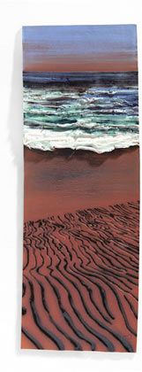 Love this work by Kinsale based ceramicist Sara Roberts - http://www.sramics.com/. Sara works with red earthenware and porcelain and captures the mode of natural landscapes in clay through texture and colour. Tactile. Gorgeous.