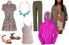 Look stylish for a long weekend in the Pacific Northwest