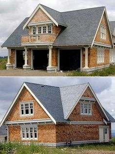 My favorite detached garage with apartment design. Maybe we'll have this someday!