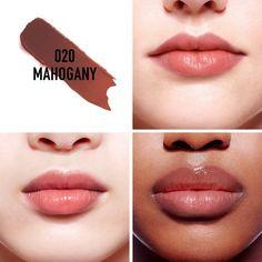 Dior Addict Lip Glow - Dior | Sephora Dior Addict, Natural Lip Colors, Natural Lips, Facial Contouring Makeup, Dior Lip Glow, Color Style, Lip Hydration, How To Apply Lipstick, Cool Undertones