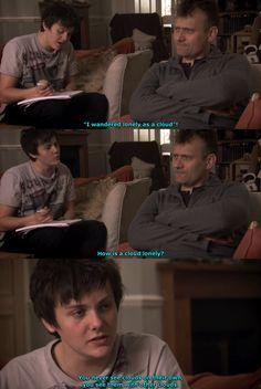 television screencaps British Sitcoms, British Memes, British Comedy, British Slang, Comedy Tv, Comedy Show, Funny Tv Series, Mock The Week, Growing Up British