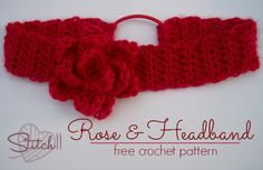 Stitch11 Rose and Headband Pattern
