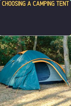 Tents come in all shapes and sizes. If you're car camping, a dome-shaped tent might be best to give more room and comfort. However if backpacking is your thing, then an ultralight 2-person tent will work better (and save weight). We've got you covered with what to look for when buying a tent!
