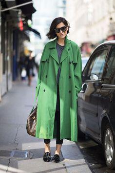 EstiloDF » ¡El trench coat a colores es mejor!