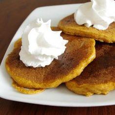 Kamut Pumpkin Pancakes
