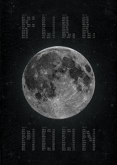 Full Moon Calendar by Michæl Paukner, via Flickr