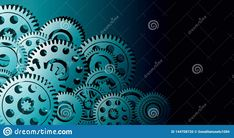 Technology Background, Cyber, Banners, Coding, Illustration, Seaweed, Banner, Illustrations, Posters