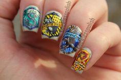 HARRY POTTER #nail #nails #nailart