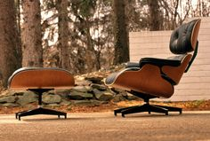 Approaching Design: Eames Lounge Chair | WANKEN - The Art & Design blog of Shelby White