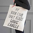 funny tote bag by the joy of ex foundation | notonthehighstreet.com