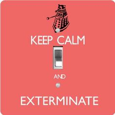 """Rikki KnightTM Keep Calm and Exterminate Tropical Pink Color - Single Toggle Light Switch Cover by Rikki Knight. $13.99. Masonite Hardboard Material. Washable. 5""""x 5""""x 0.18"""". Glossy Finish. For use on Walls (screws not included). The Keep Calm and Exterminate Tropical Pink Color single toggle light switch cover is made of commercial vibrant quality masonite Hardboard that is cut into 5"""" Square with 1'8"""" thick material. The Beautiful Art Photo Reproduction is printed direct..."""