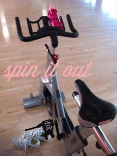 Spin class: I always feel so good after.