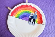 This Rainbow Paper Plate Learning Toy is such a delightful toy to make and play with your little ones! Use this learning toy to teach about formation of rainbow from the interesting combination of sun and rain – sunlight separates into the rainbow colors as they enter the raindrops. Children get to learn about the …