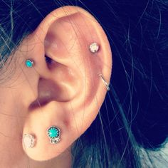 I want an Anti-Helix next! I need a break from these funky, super painful piercings!