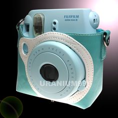 Fuji Fujifilm Instax Mini 8 Polaroid Camera Protect Case Bag Blue | eBay