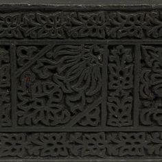 Textile printing block Textile Printing, Asian Furniture, Primitive Furniture, Textiles, Wood Stamp, Border Pattern, Wooden Blocks, Woodblock Print, Home Furnishings