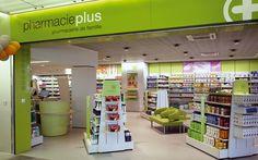 Pharmacie Plus by Alexandre Henriques, via Behance