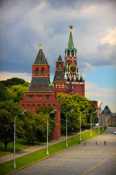 The Red Square, Moscow.