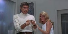 In Like Flint and Our Man Flint. A spy show staring actor James Coburn as Derek Flint. 1967. This is such a cool show I loved it!