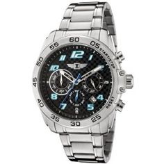 I By Invicta Men's 90187-001 Chronograph Stainless Steel Watch (Watch)  #invicta