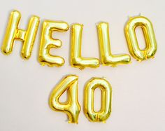 hello 40 birthday banner 40 and fabulous forty and