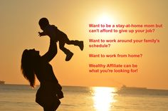 What to be a stay at home mom but can't afford to give up your job?