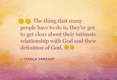 They're no-nonsense words of wisdom that will awaken you in this moment. Read these thought-provoking quotes from Oprah's conversation with spiritual teacher Iyanla Vanzant.
