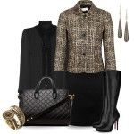 Classy Fashion Outfits 2012 | Tweed 2