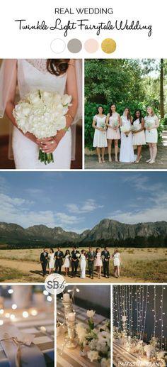 Fairy Light Fairytale Wedding by Tiffany B. | SouthBound Bride | http://www.southboundbride.com/fairy-light-fairytale-wedding-at-ashanti-estate-by-tiffany-b-nicole-kyle