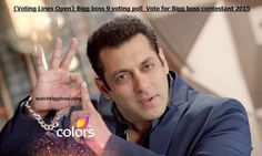 Bigg boss 9 voting poll | Vote for Bigg boss contestant 2015 Voting Polls, Full Episodes, Boss, Salman Khan, Bollywood
