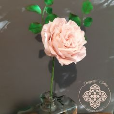 O'Hara Rose made from Sugar paste by Designer cakes by Cezanne in Durbanville, Western Cape O Hara Rose, Designer Cakes, Sugar Paste, Sugar Flowers, How To Make Cake, Cake Designs, Cape, Cake Templates, Mantle