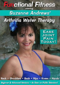 Shop Suzanne Andrews: Functional Fitness Arthritis Water Therapy CDs] [DVD] at Best Buy. Find low everyday prices and buy online for delivery or in-store pick-up. Yoga For Arthritis, Arthritis Exercises, Rheumatoid Arthritis Symptoms, Types Of Arthritis, Arthritis Relief, Pool Workout, Workout Dvds, Reactive Arthritis, Water Aerobics