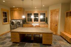 Laundry Craft Room Design, Pictures, Remodel, Decor and Ideas Decor, House Design, Room Design, House, Laundry Mud Room, Dream Laundry Room, Sewing Room Design, Home Decor, House Interior