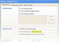 Comment faire de Bing votre page d'accueil dans Chrome